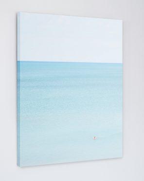 Man Swimming, Pinery - Fine Art Beach Photography Canvas