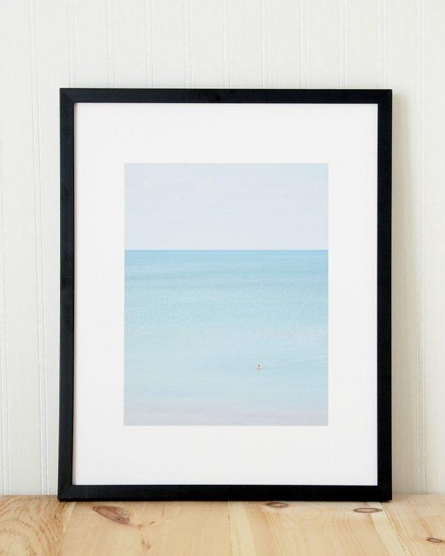 Man Swimming, Pinery - Fine Art Beach Photography