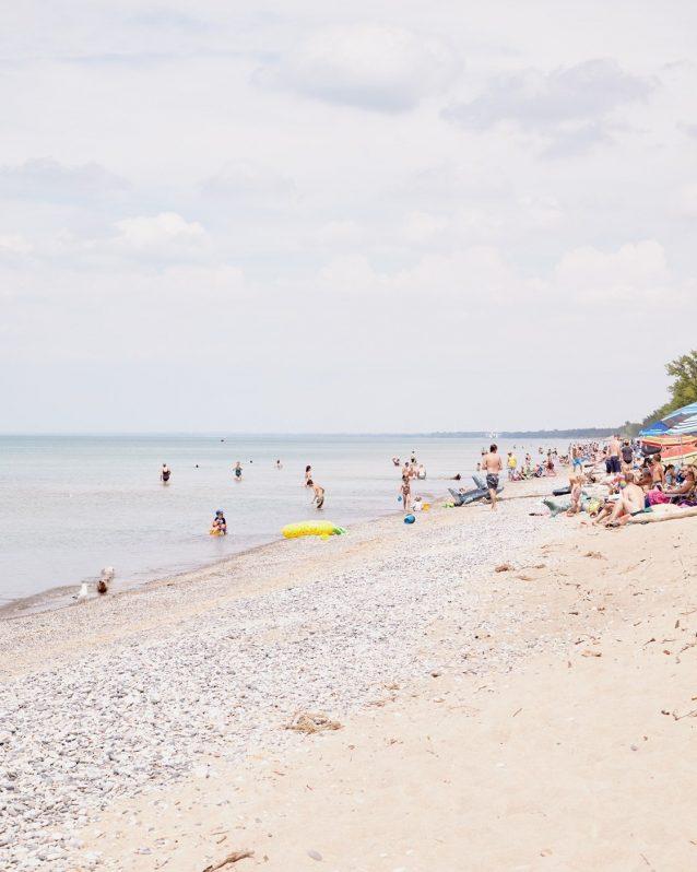 Pinery Sunbathers - Pinery Beach Photo