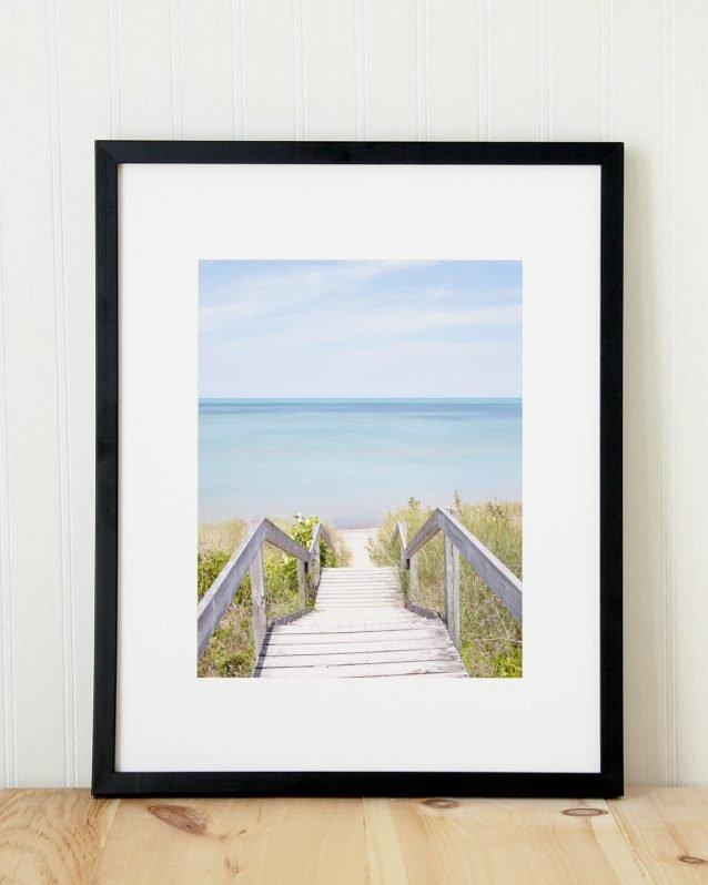 Pinery Steps Beach #2 Vertical - Canada Print