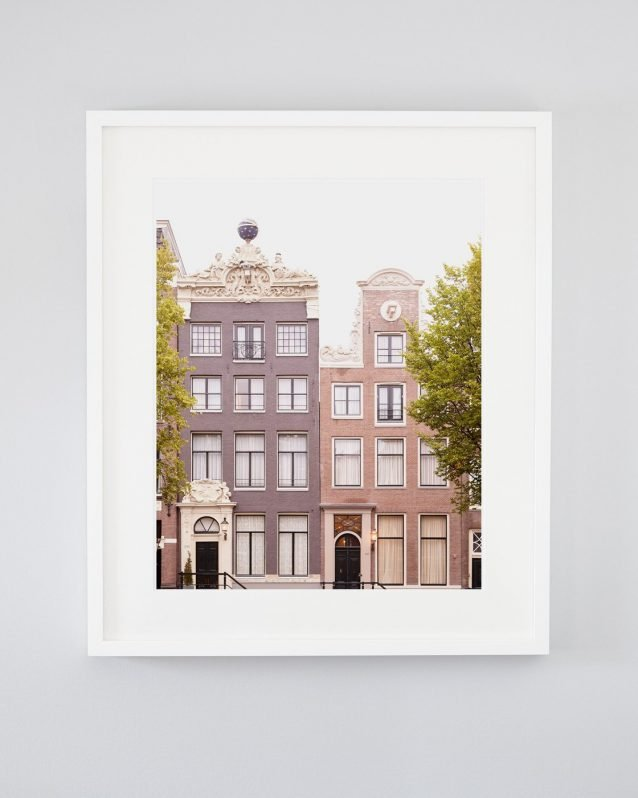 Apollo and Minerva - Framed Amsterdam Architecture Photo