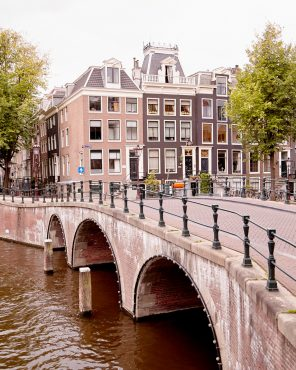 The Emperor's Canal - Amsterdam Bridge Photo