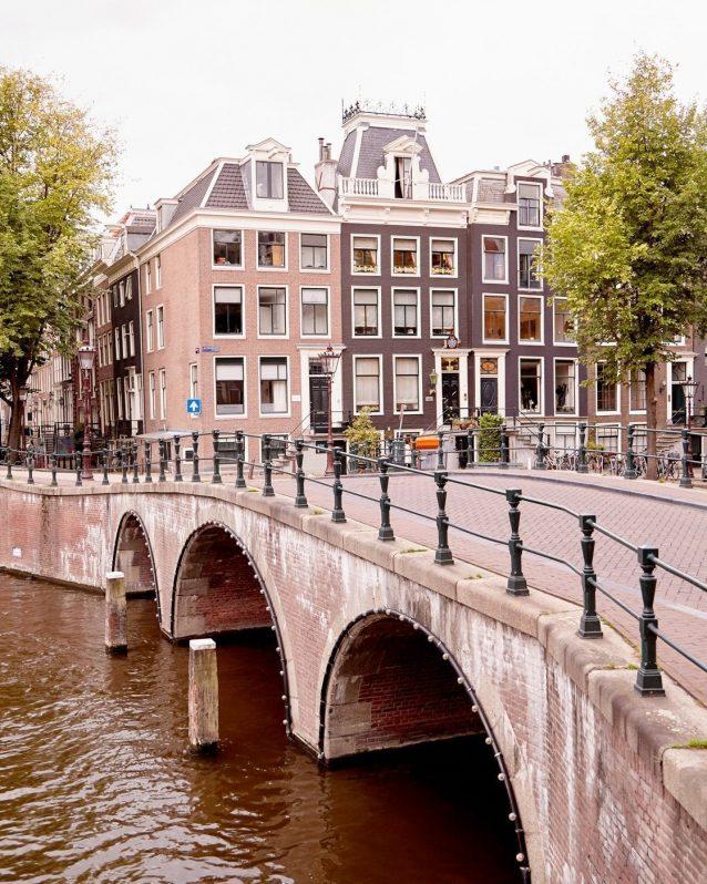 The Emperor's Canal - Amsterdam Bridge Photo