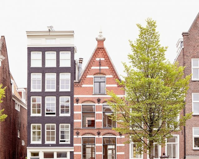 Amsterdam Peaks - Amsterdam Buildings Photography Print