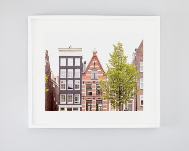 Amsterdam Peaks - Framed Amsterdam Buildings Photography Print