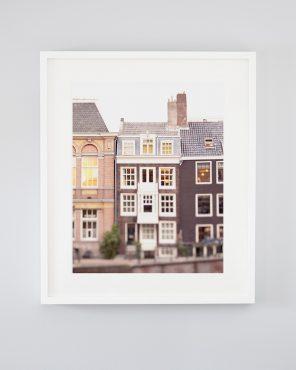 Lindsay's Library - Framed Amsterdam Contemporary Art Print