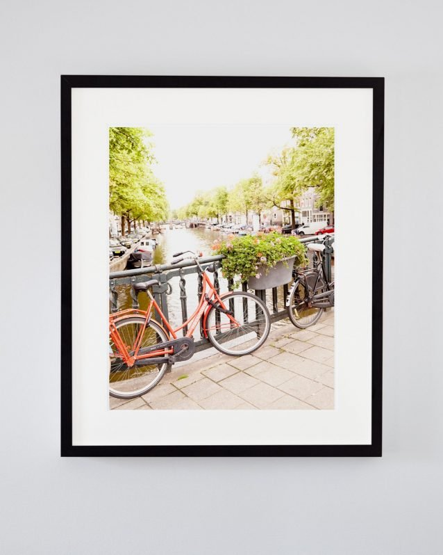 Brooke Bikes to Brunch - Framed Amsterdam Photography Print