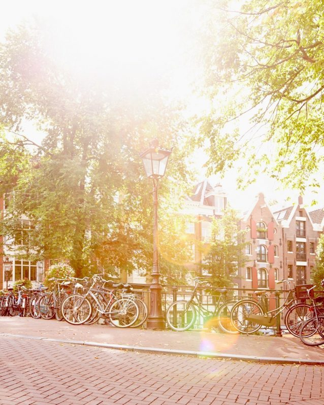 Breezy Like Sunday Morning - Bikes in Amsterdam picture