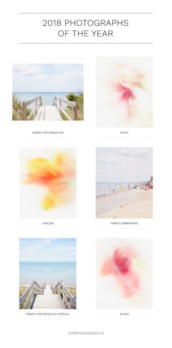 2018 Favourite Photographs of the Year - Fine Art Abstracts and Beaches