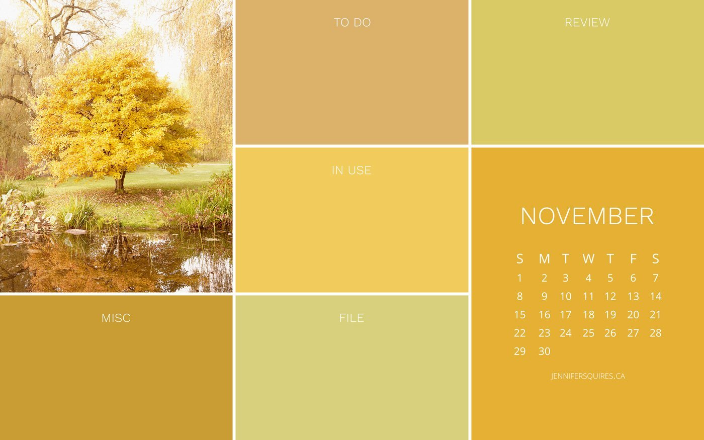 November 2020 Wallpaper With Calendar For Iphone And Desktop